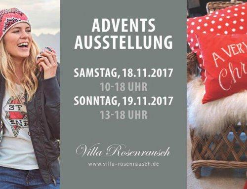 Adventausstellung am 18/19.11.2017 in unserer Villa Rosenrausch
