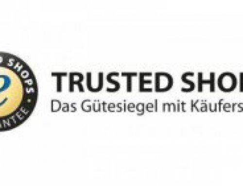 """Ab sofort nutzen wir """"Trusted Shops"""" für noch mehr Kundensicherheit"""