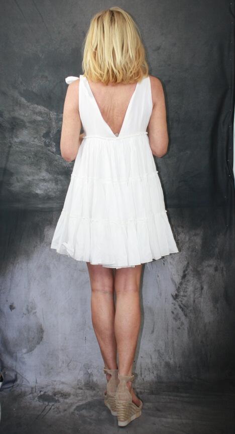 Devotion Sommerkleid weiß | Online-Shop | Villa Rosenrausch