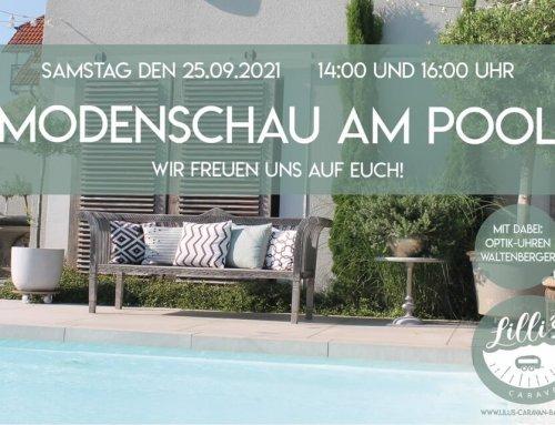 Modenschau am Pool – 25.September 2021